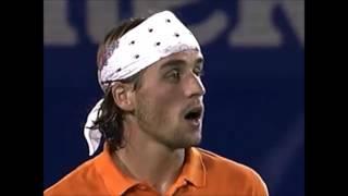 Australian Open 2001: Clement - Grosjean (SF) Highlights