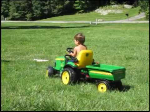 Big Green Tractor video