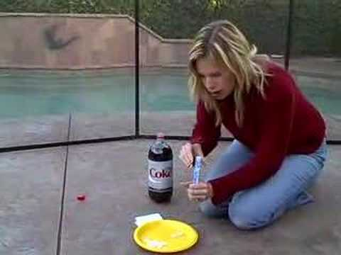 Diet Coke + Mentos How to Do with Children Cullen's Abc's