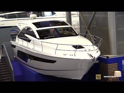 2019 Fairline Targa 48 Luxury Yacht - Deck and Interior Walkaround - 2019 Boot Dusseldorf
