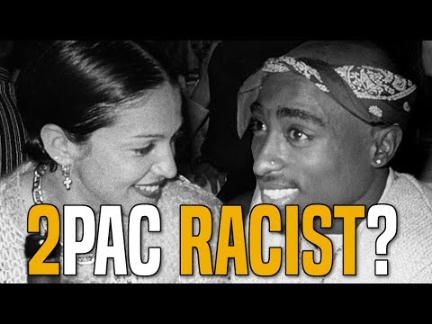 Tupac Ended Relationship With Madonna, Was It Racism?