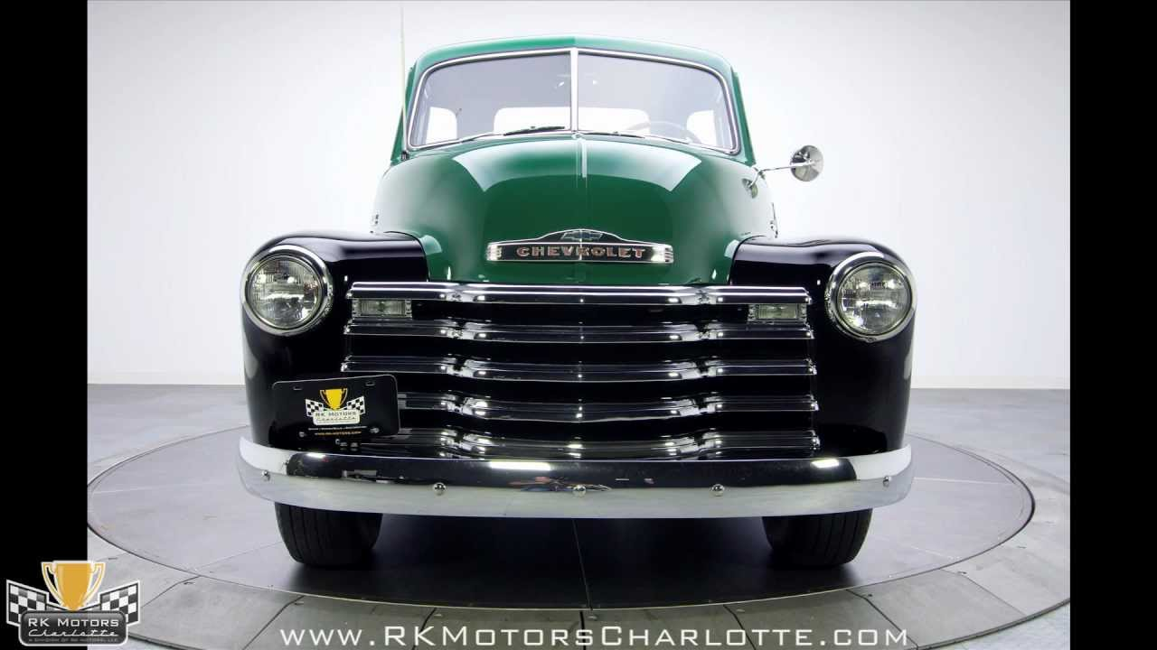 132457 1949 Chevy 3100 Pick Up Truck Youtube