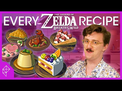 We made all 78 Breath of the Wild recipes in one day | Unraveled