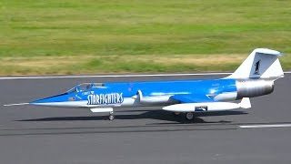 LOCKHEED F-104 STARFIGHTER RC JET SCALE / Jet Power Fair 2016