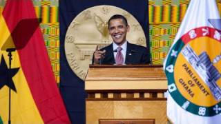 President Obama Speaks in Ghana