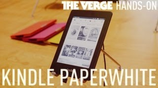 Amazon Kindle Paperwhite hands-on