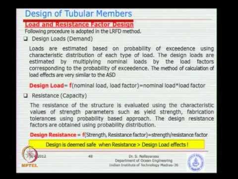 Mod-03 Lec-03 Steel Tubular Member Design -3