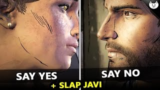 Say YES to Kate VS Say NO to Kate  - The Walking Dead Game Season 3 Episode 4 Choices Difference