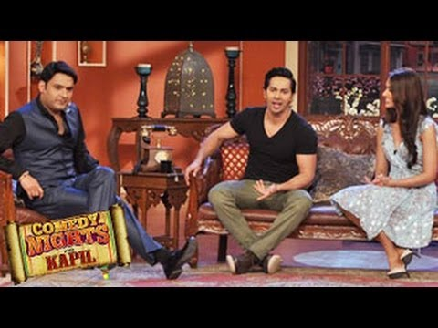 Varun Dhawan & Ileana Dcruz on Comedy Nights with Kapil 29th March 2014 episode