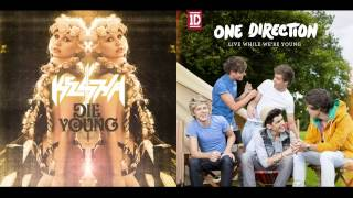 Ke$ha Video - Ke$ha vs. One Direction - Die While We're Young