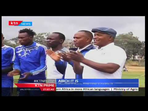 KTN Prime: Sofapaka Defender Noah Abich gets feted the sports Journalist player of the month