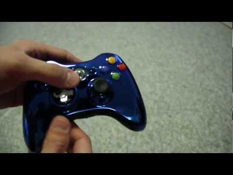 Chrome Series: Xbox 360 Controller With NEW Transforming D-Pad   Unboxing/Review