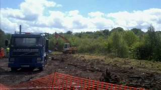 MCR  progress with Leekbrook Junction & Cauldon Low Part 1