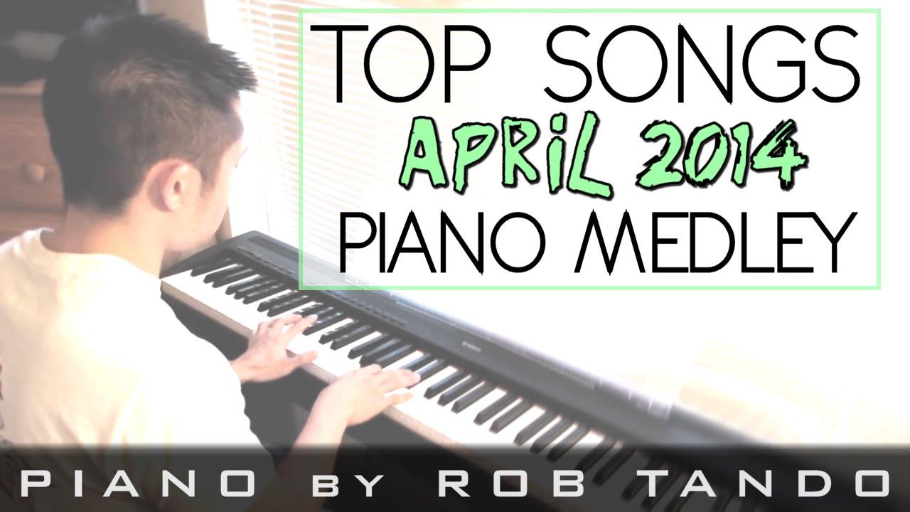 top ten hits 2014 april