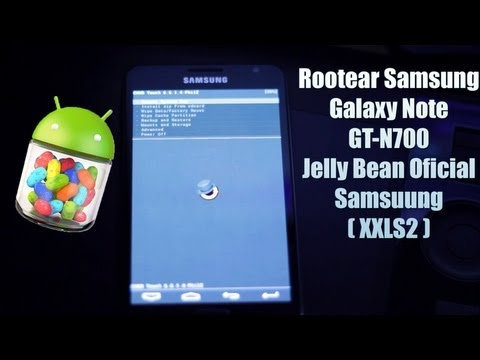 [IMPORTANTE] Cómo rootear Samsung Galaxy Note GT-N700(La version de Jelly Bean oficial)