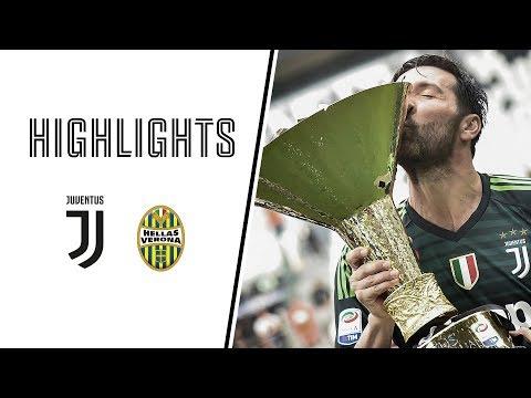 HIGHLIGHTS: Juventus vs Hellas Verona - 2-1 - Serie A - 19.05.2018 thumbnail