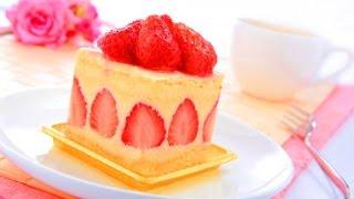 Готовим дома // Торт без выпечки (Клубнично - Творожный)