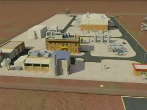 Estación de Compresión de Gas Djelfa, Argelia