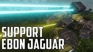 MWO: F2P - Trial By Fire: Fire Support Ebon Jaguar