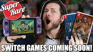 5 Upcoming Nintendo Switch Games by Super Rare!