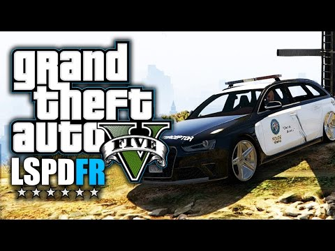 GTA 5 LSPDFR - Audi RS4 für das Police Department