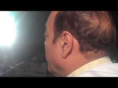 Abu Asim Azmi Sb.at Govandi on his demand for 5% Muslim Reservation in Maharashtra. 07/03/15