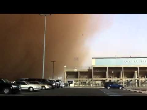 Lubbock sand storm (Haboob)