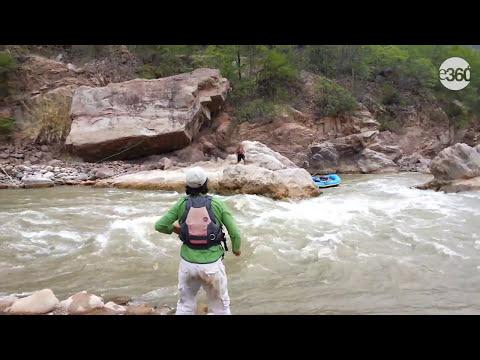 Explorando el río Pampas