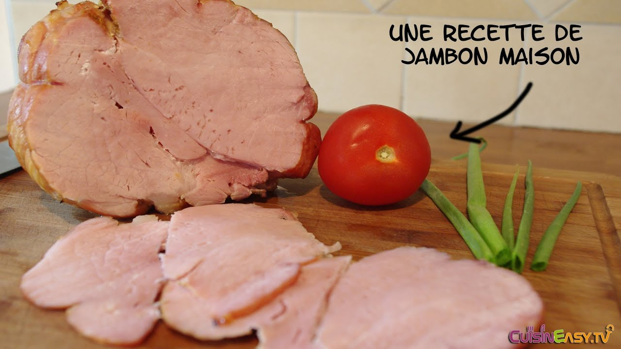 Recette comment faire son jambon blanc maison youtube - Faire son saucisson sec maison ...
