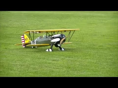 Great Planes Curtiss P-6E Hawk Looses Pilot