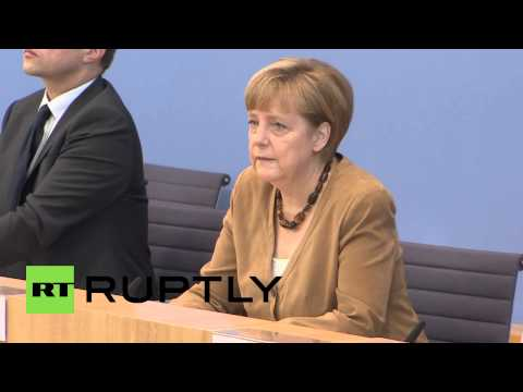 Germany: Merkel urges immediate ceasefire after MH17 crash