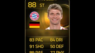 FIFA 15 SIF MULLER 88 Player Review & In Game Stats Ultimate Team