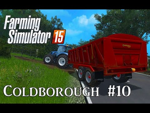 Let's Play Farming Simulator 15: A Very British Farm Episode 10 - Milk and Water Tanker