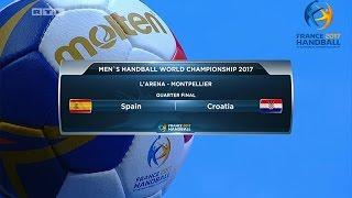 [RUKOMET cijela utakmica ] Hrvatska Španjolska (30-29) - Francuska 2017