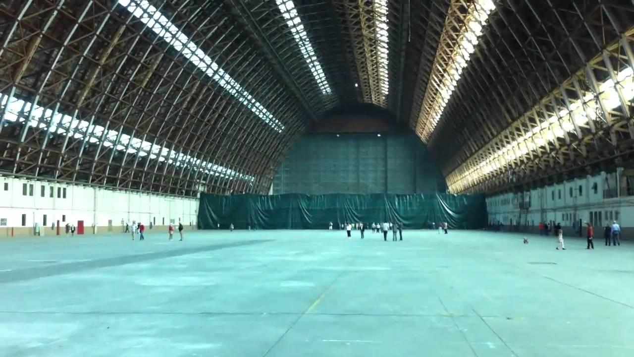 Inside The Tustin Blimp Hangar YouTube