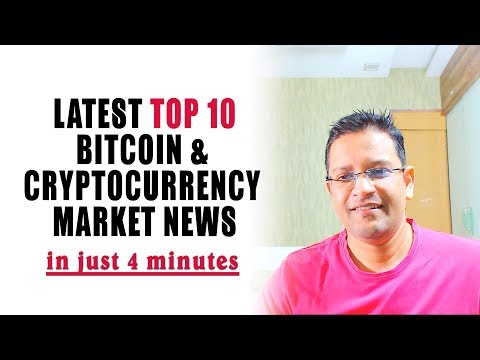 Latest Top 10 HOT Cryptocurrency & Bitcoin Market News in just 4 Minutes in Hindi