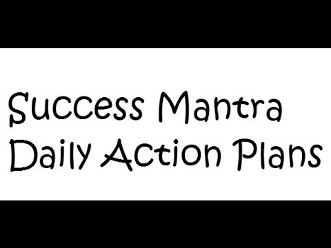 SEO Tutorial - Business Plan - Daily Actions for Success