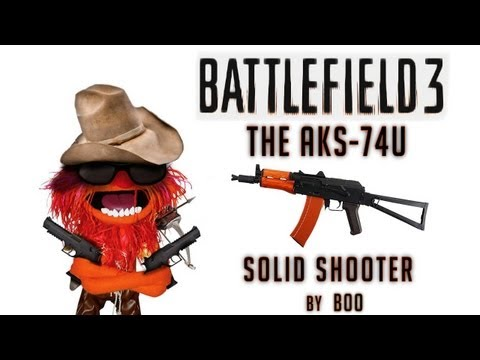 AKS-74u Gameplay | Solid Shooter - Battlefield 3