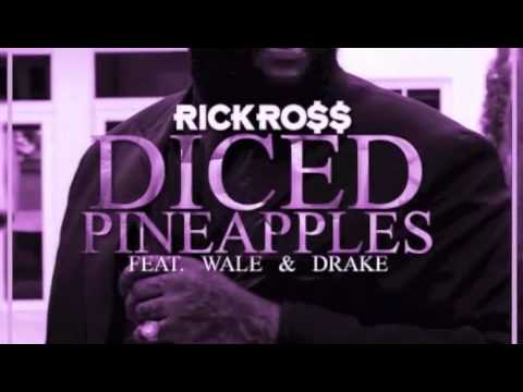 Rick Ross Feat. Drake, Wale - Diced Pineapples (Chopped Not Slopped by Slim K)