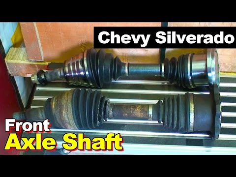 2007 Chevrolet Silverado 2500HD Diesel Front CV Axle Shaft Replacement