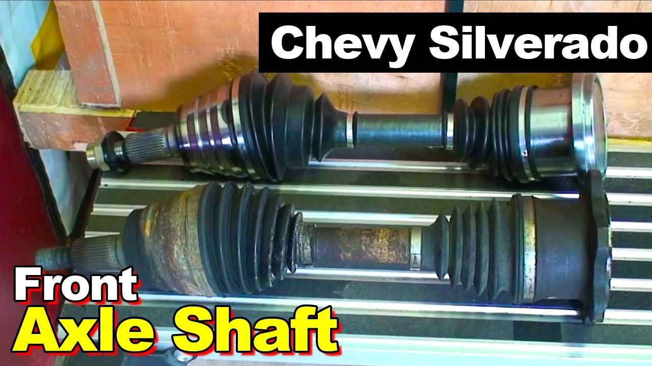 2007 Chevrolet Silverado 2500HD Diesel Front CV Axle Shaft ...
