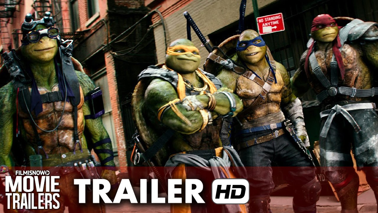 Teenage Mutant Ninja Turtles: Out of the Shadows Official Trailer #1 [HD]