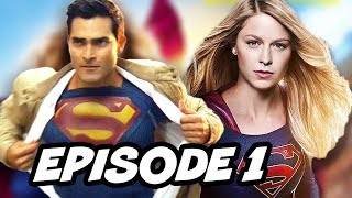 Supergirl Season 2 Episode 1 Superman TOP 10 WTF and Easter Eggs