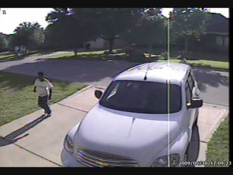Bike theft caught on Q-See home surveillance cameras