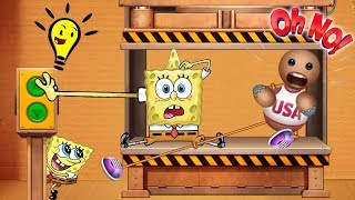Kick The Buddy Vs Spongebob Games Frenzy - The Buddy vs Funny Spongebob Mini Games (iOS)