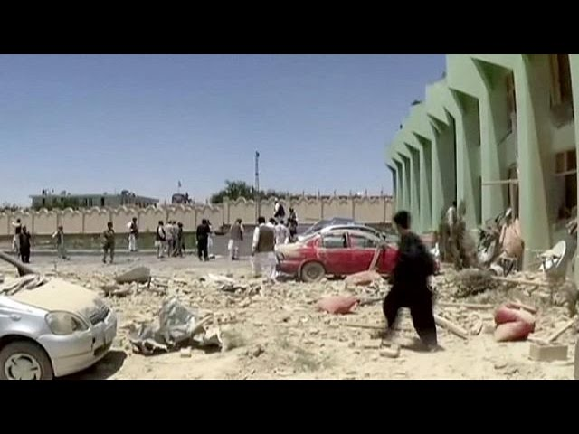70 people wounded in Afghanistan suicide bombing
