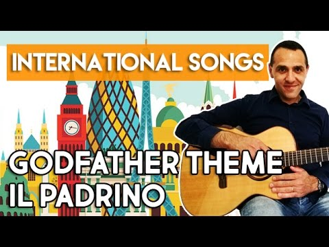 Godfather Theme - Il Padrino - Guitar Fingerstyle Tutorial