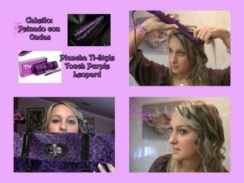 Cabello: Peinado Con Ondas + Plancha Ti Touch Titanium