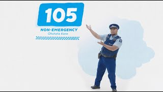 Non Emergency Number - It's 105!