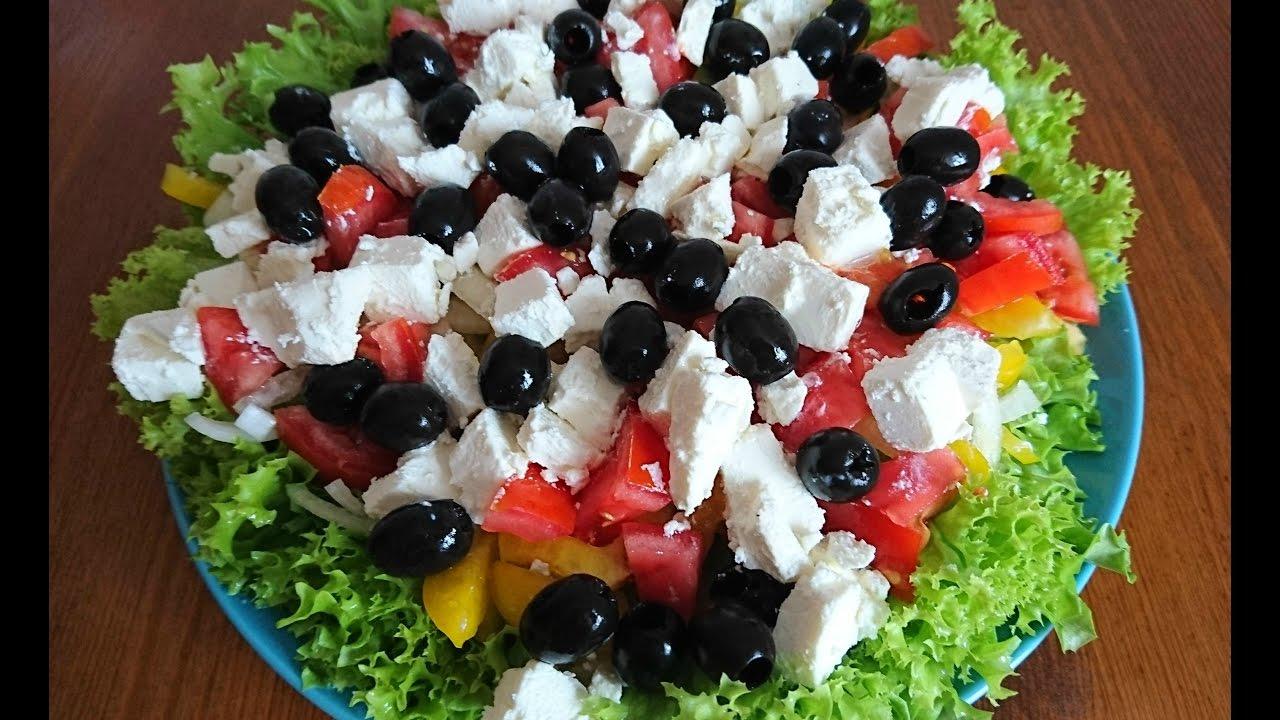 Самые вкусные и популярные салаты с